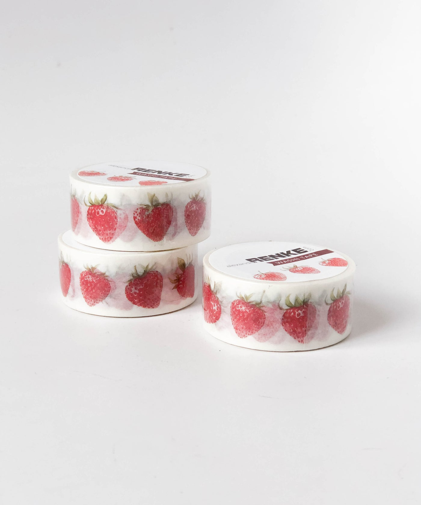 Washi Tape Little Strawberries