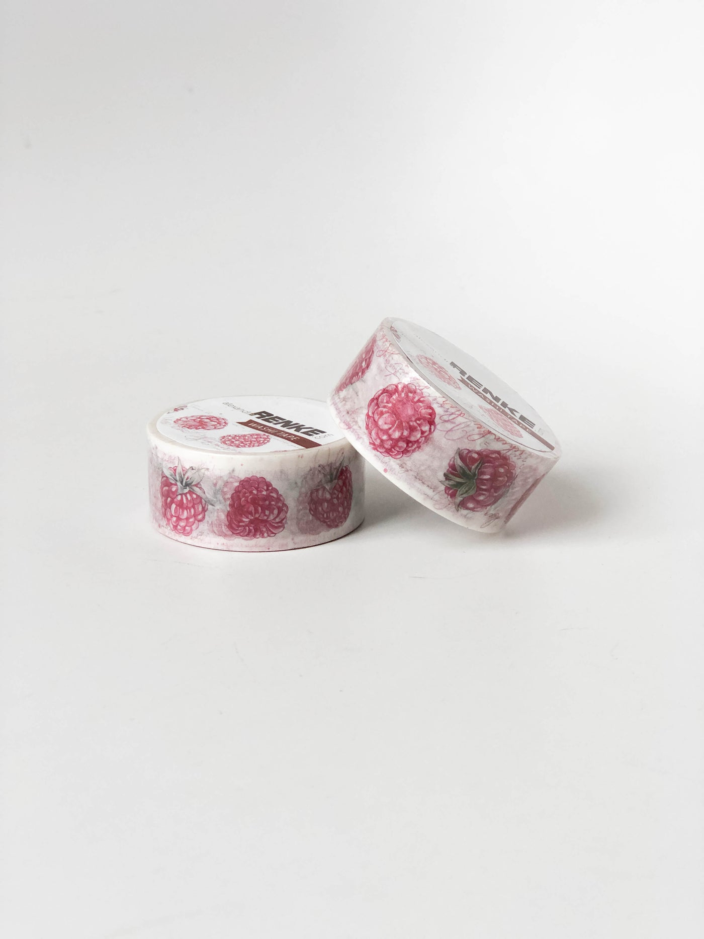 Washi Tape Raspberries