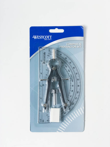 Compass & Protractor Set