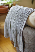 Brooklyn Tweed Shale Baby Blanket