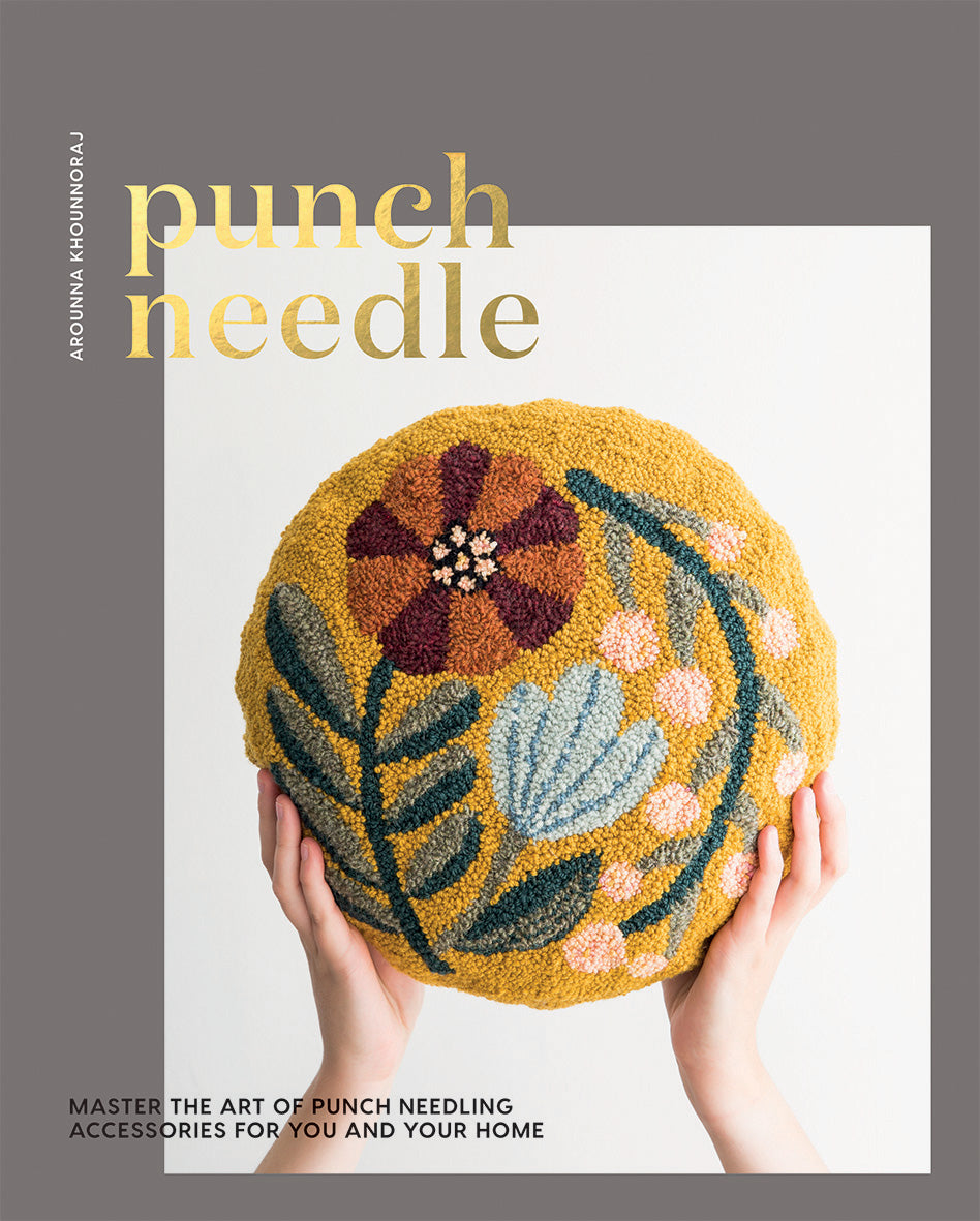 Punch Needle by Arounna Khounnoraj     (Autographed Copies)