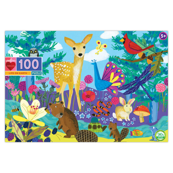 Life on Earth | 100 Piece Puzzle