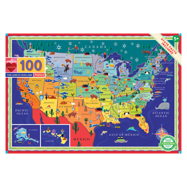 This Land is Your Land | 100 Piece Puzzle