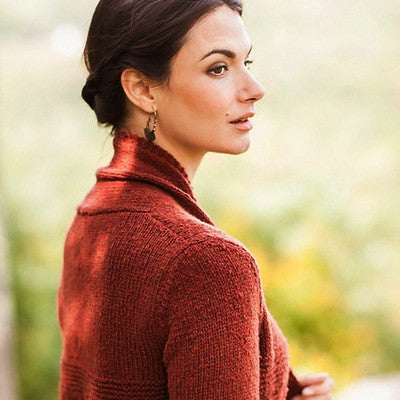 Brooklyn Tweed Persimmon Cardigan
