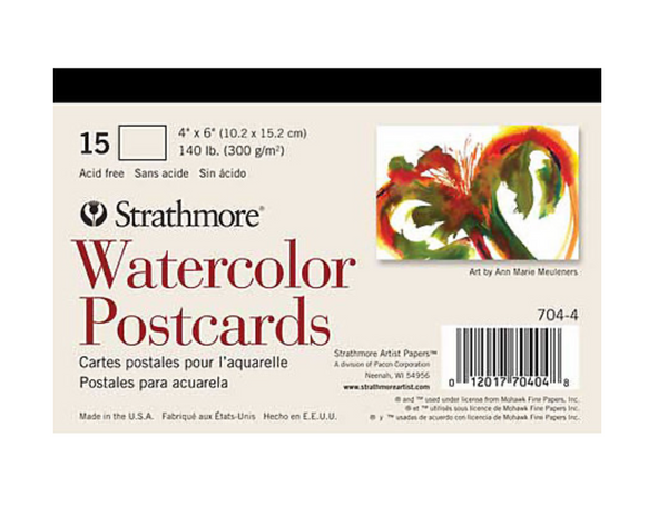 Watercolor Postcards - Strathmore