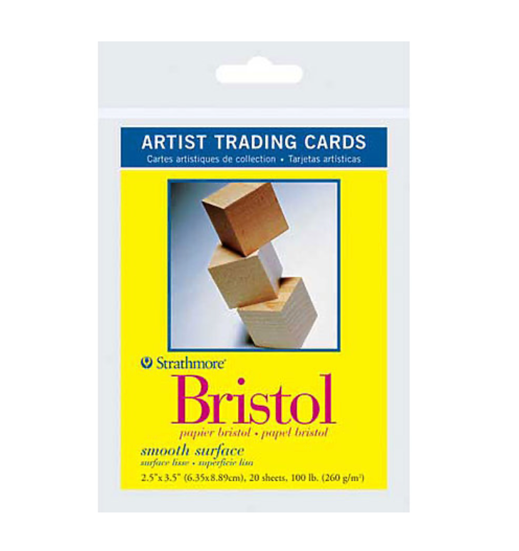 "Artist Trading Card Packs | Bristol Smooth Surface 2.5""x3.5"""