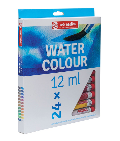 Art Creation Watercolor Set | 24-Color Set