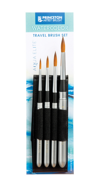 Aqua Elite Watercolor Travel Brush Set