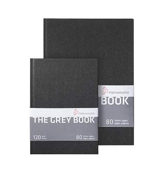 "Hahnemuehle Grey Sketch Books 8.2"" x 5.8"""