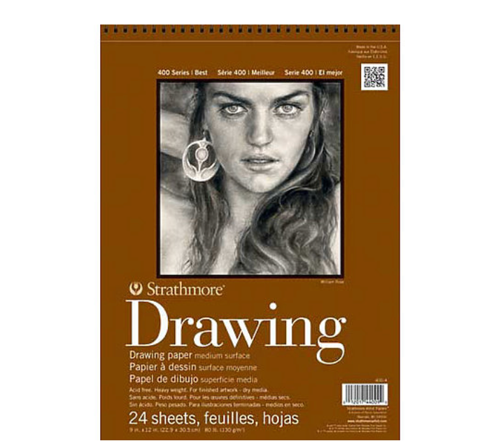 "Strathmore Drawing Paper Pad | 400 Series, 9""x12"""
