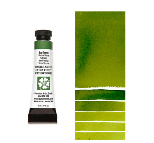 Daniel Smith Extra Fine Watercolors - Sap Green