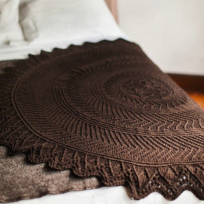 Brooklyn Tweed Tree Rings Shawl