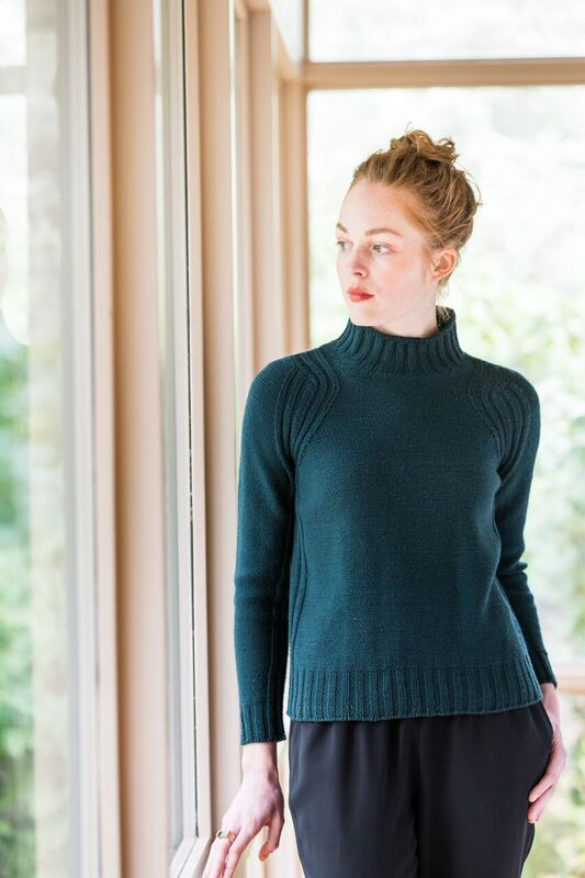 Brooklyn Tweed Boundary Pullover