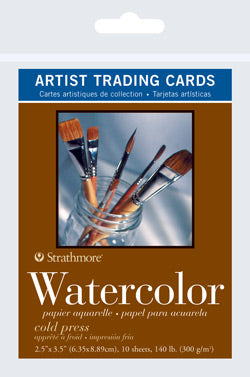 "Artist Trading Card Packs | Watercolor Cold Press 2.5""x3.5"""