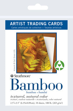 "Artist Trading Card Packs | Bamboo 2.5""x3.5"""