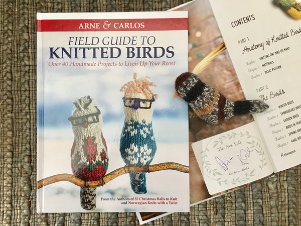 Field Guide to Knitted Birds by Arne & Carlos