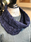 Grass Island Cowl Pattern by Valerie Covel
