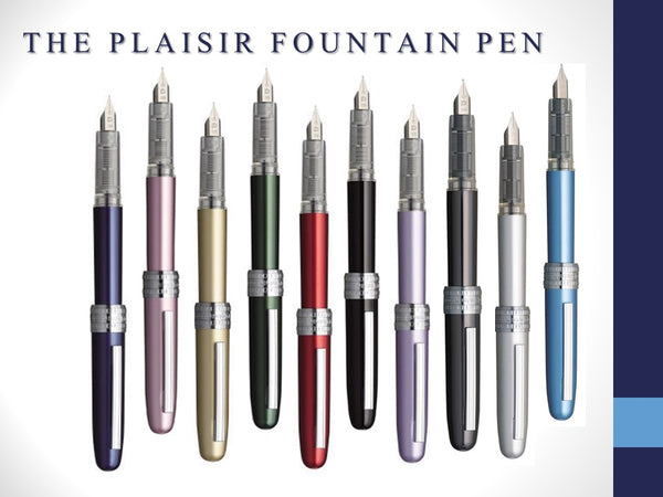 Plaisir Fountain Pens | Fine & Medium