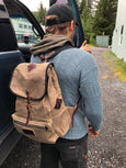 FisherFolk Rucksack in Dark Khaki
