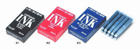 Ink Cartridge Refills for Fountain Pens