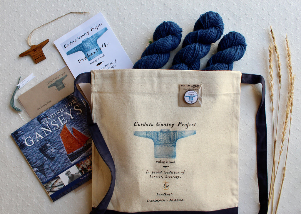 Gansey Knitter Project Complete Pack
