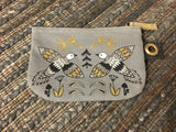 Woodland Bears, Birds, & Foxes Collection: Flat medium Pouch