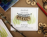 Shorebird Sandpiper Stitch Markers Set of six