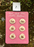 Leon Phillips Antler Buttons