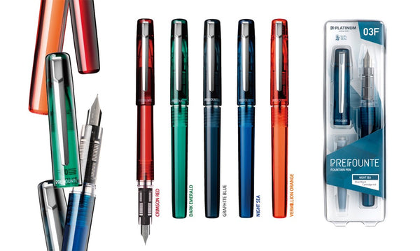 Prefounte Fountain Pens | Fine & Medium