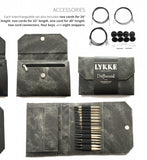 LYKKE Driftwood Interchangeable Needle Set Grey Denim