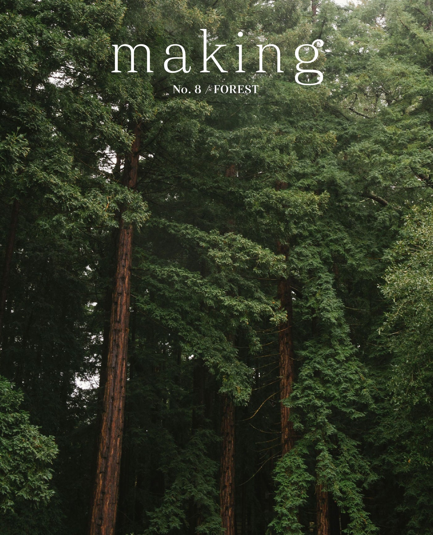 Making Magazine No. 8 / Forest (Pre-Order) with Woodland Bookmark