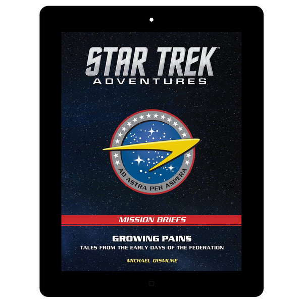 Star Trek Adventures: Mission Briefs Pack 001