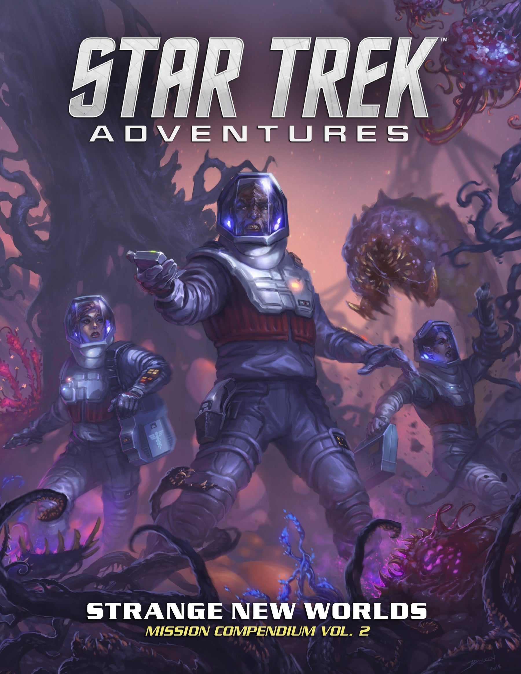 Win a copy of Star Trek Adventures Strange New Worlds & $150 for your FLGS!