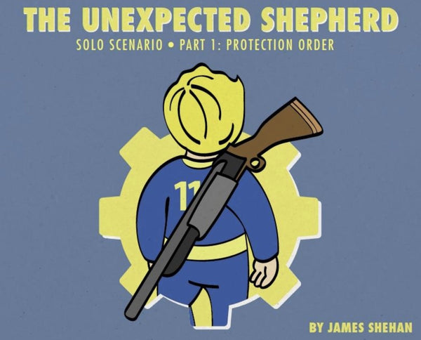 The Unexpected Shepherd - Solo Roleplaying in the Wasteland