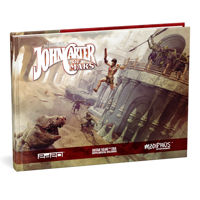 John Carter of Mars: Dotar Sojat Era Supplemental Rulebook - PDF