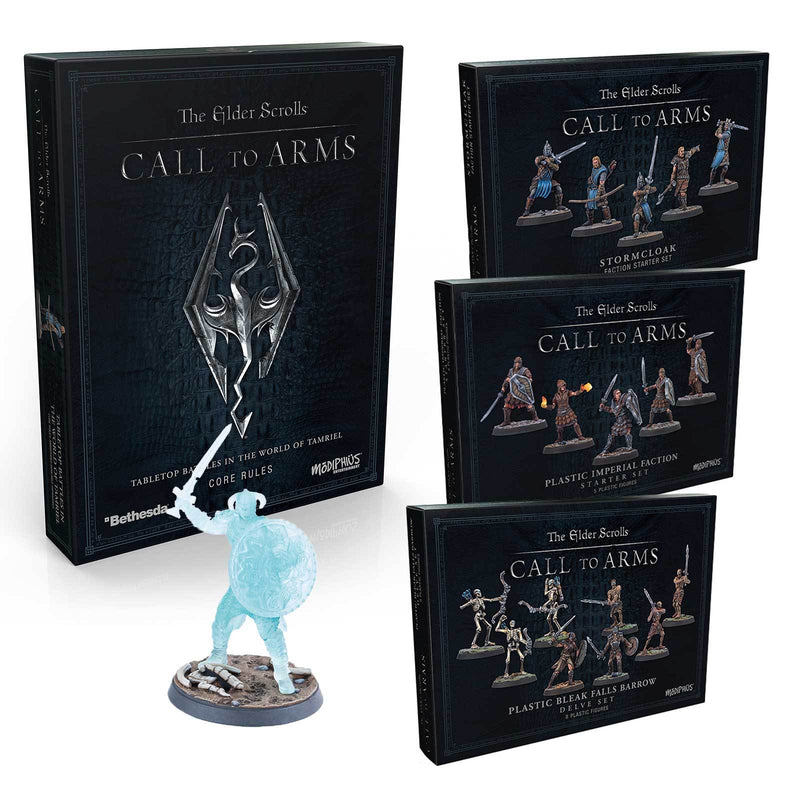 The Elder Scrolls: Call to Arms - Hard Plastic Starter Bundle