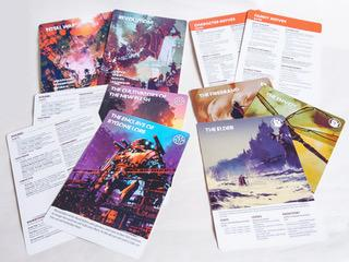 Legacy: Life Among the Ruins 2nd Edition: Handout Sheets -  Modiphius