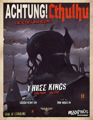 Achtung! Cthulhu - Zero Point - Three Kings - Trail of Cthulhu - PDF