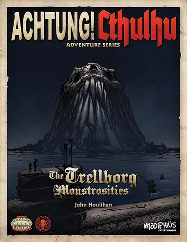 Achtung! Cthulhu - Adventure Series - The Trellborg Monstrosities - Savage Worlds - PDF - Modiphius Entertainment