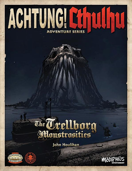 Achtung! Cthulhu - Adventure Series - Monstrosities at Trelborg - Savage Worlds - PDF