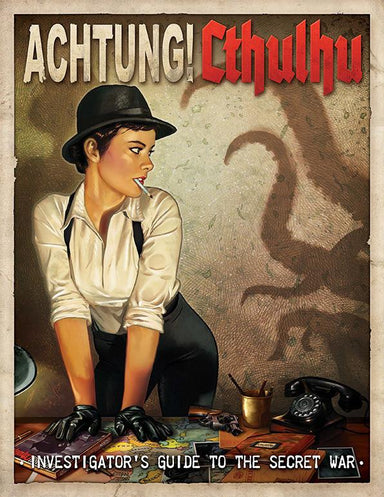 Achtung! Cthulhu - Investigator's Guide to the Secret War - PDF