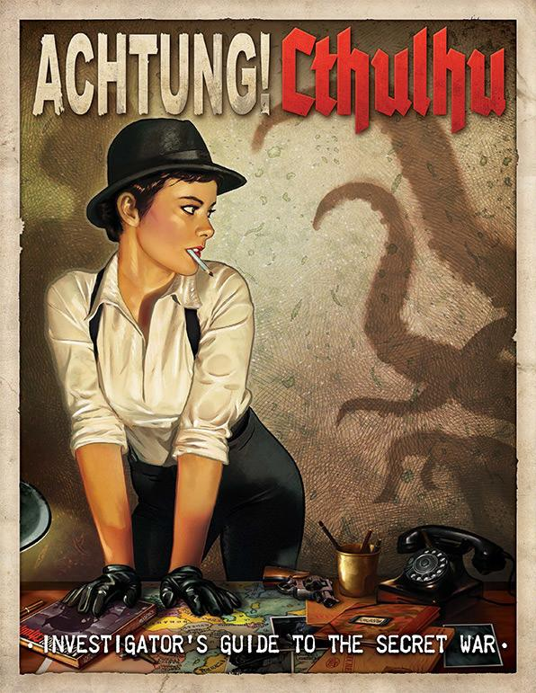 Achtung! Cthulhu - 6th Edition Investigator's Guide to the Secret War - PDF - Modiphius Entertainment