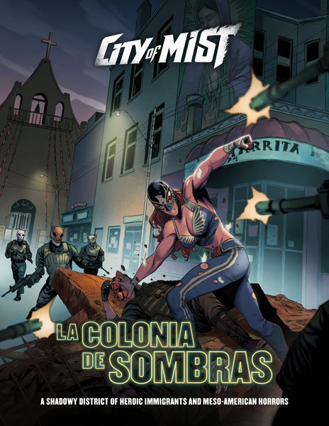 City of Mist: Colonia de Sombras - PDF