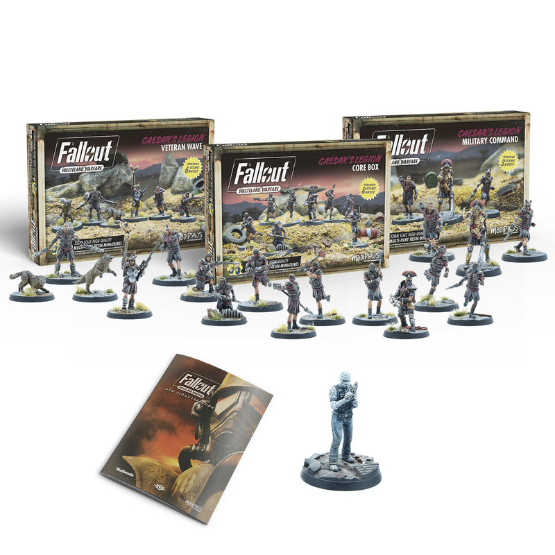 Fallout: Wasteland Warfare - New Vegas Caesar's Legion Forces Bundle