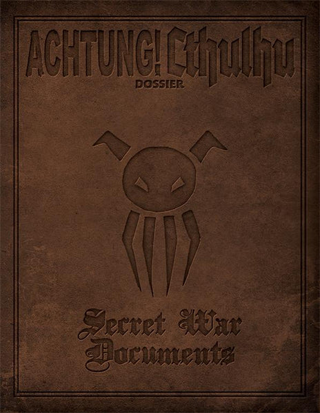 Achtung! Cthulhu - Secret War PDF Documents
