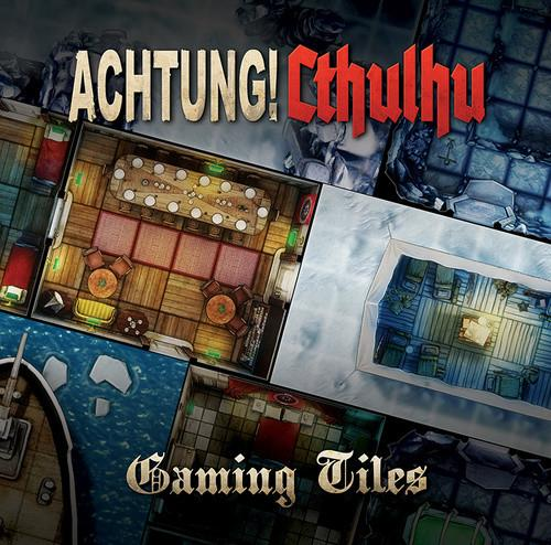 Achtung! Cthulhu Gaming Tiles - Secret Bases & Icy Ruins - Modiphius Entertainment