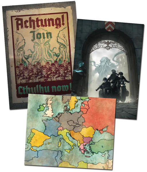 Achtung! Cthulhu Poster Set