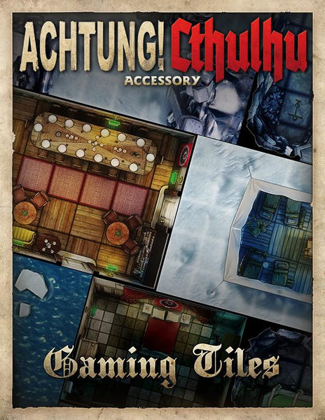 Achtung! Cthulhu PDF Gaming Tiles