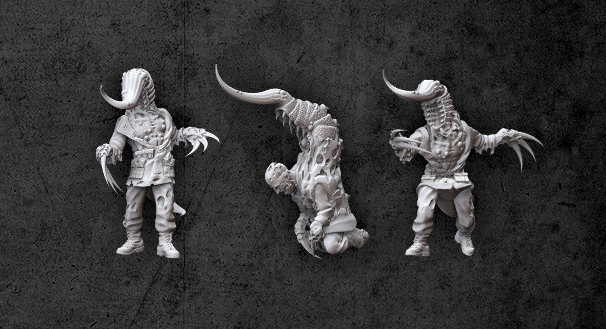 Achtung! Cthulhu Miniatures - Servitors of Nyarlathotep