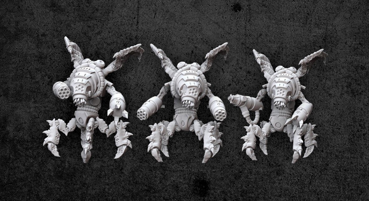 Achtung! Cthulhu Miniatures - Augmented Mi-Go
